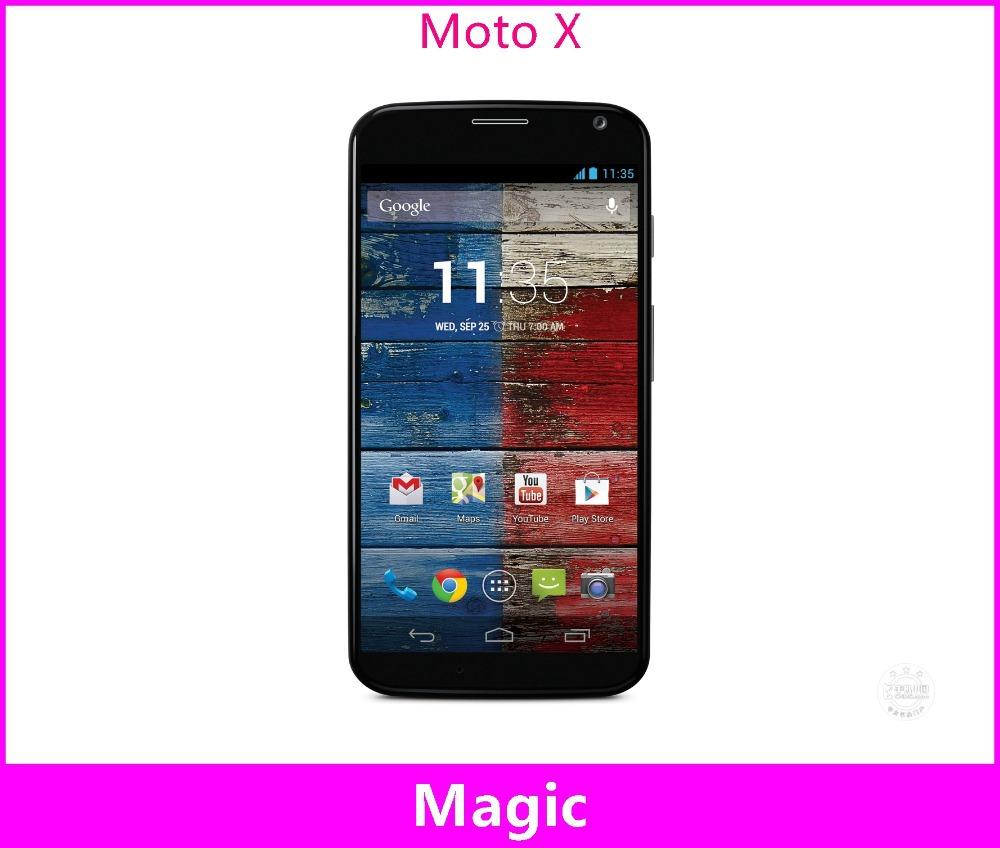 Мобильный телефон Motorola Moto X Xt1058 Xt1060 Xt1056 Android 4,7 GPS WIFI 3G 4G 10MP ostry kc06 fashion in ear ear hook earphones silver black 3 5mm plug 1 2m cable