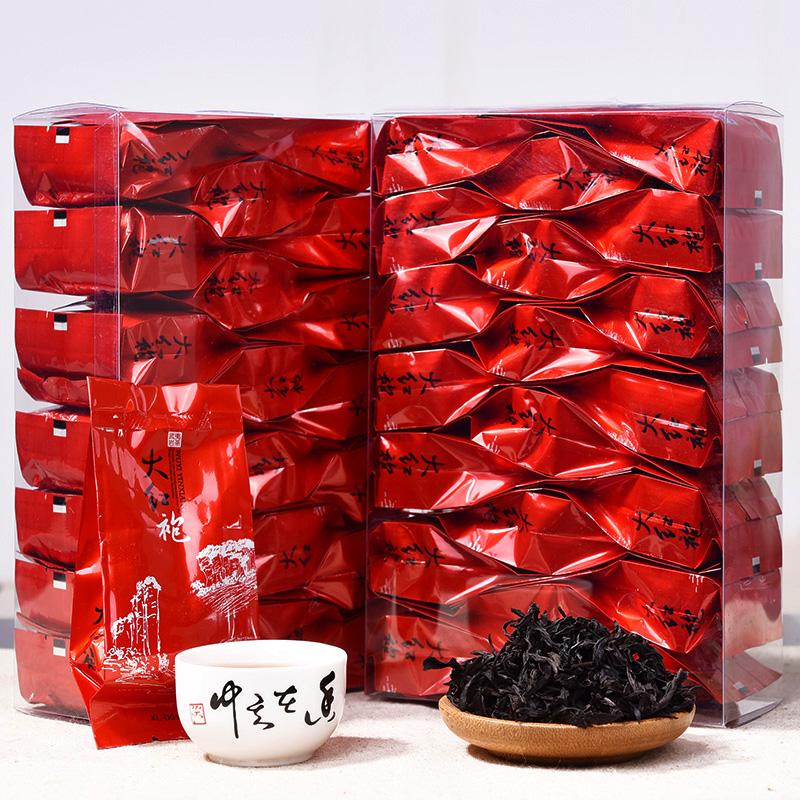 [GRANDNESS] Fujian Wuyi Dahongpao tea 125g,top grade chinese da hong pao big red da hong pao premium wuyi dahongpao gift pack(China (Mainland))