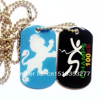 custom souvenir metal dog tag machine-dt002