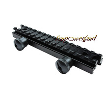 Funpowerland Compact AR15 0.5 inch See-Through Riser Mount