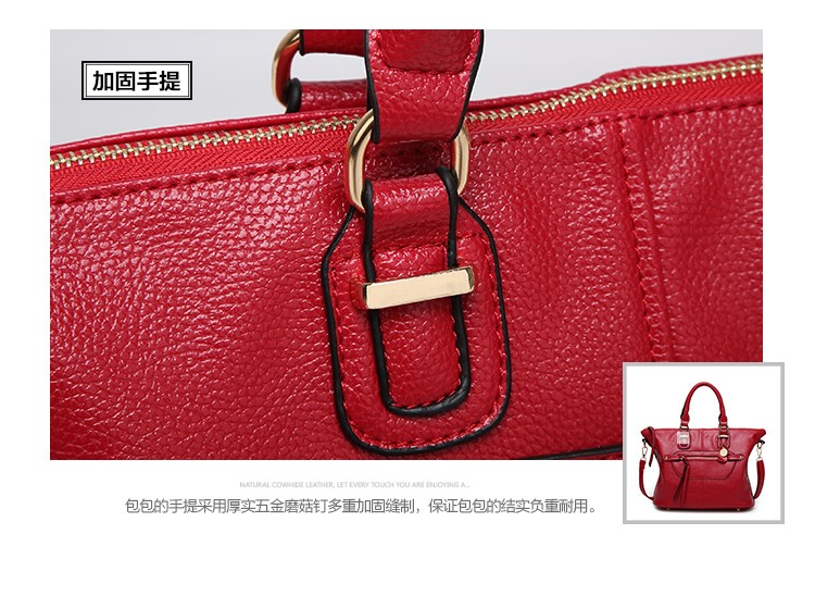 2018 Europe and the United States the new fashion bags ladies motorcycle bag fashion shoulder Messenger bag pu leather big bag