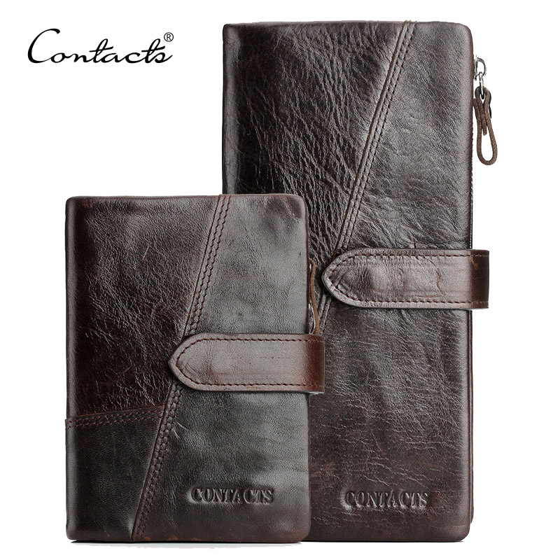 Crazy horsehide Leather 2016 Classical European and American Style Men Wallets Fashion Purse Card Holder Vintage Man Wallet(China (Mainland))