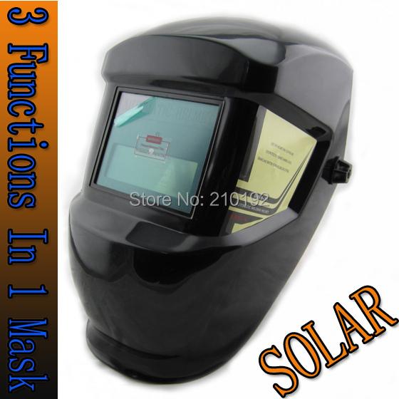 Welding tools Stepless adjust Solar Auto darkening TIG MIG MAG MMA welding helmets/face mask/Electric welding mask/welder cap(China (Mainland))
