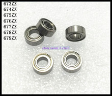 Buy 30pcs/Lot 673ZZ 673 ZZ 3x6x2.5mm Thin Wall Deep Groove Ball Bearing Mini Ball Bearing Miniature Bearing Brand New for $7.15 in AliExpress store