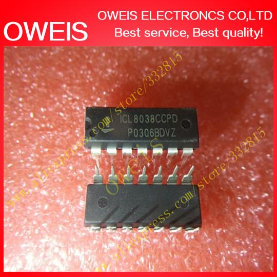 30pcs/lot ICL8038CCPD ICL8038 DIP-14 INTERSIL IC Free shipping(China (Mainland))