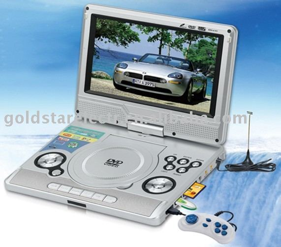 9.2 INCH PORTABLE DVD PLAYER  with TV and Games player NS9266