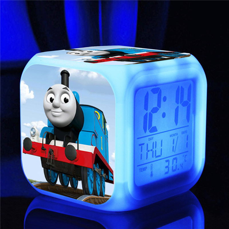 Thomas train lovely friends color light digital LED toys & hobbies cartoon action & toy figures