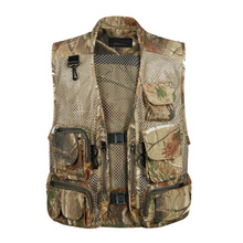 2014 Waterproof Multi Function Vest High Quality Casual Men's Outdoor Waistcoat  Vest Brand Photography Jacket(China (Mainland))