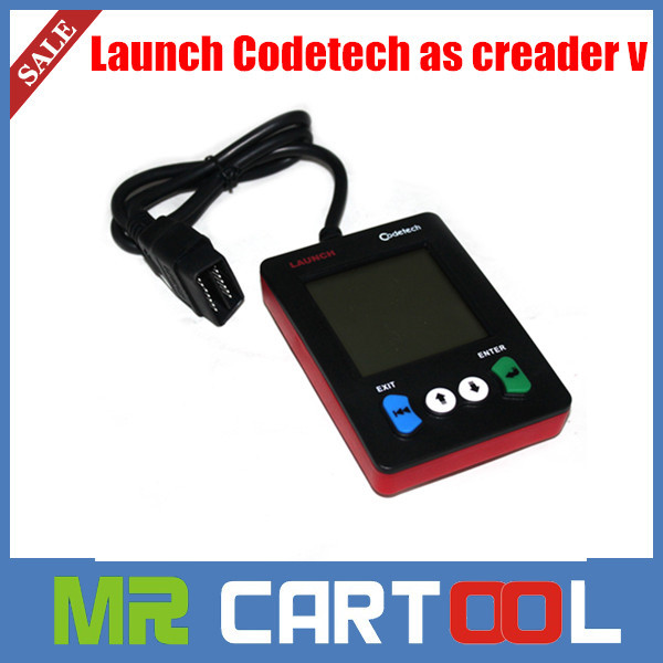 New 100% original Launch pocket code tech code scanner support obdii and definitions Launch Codetech as creader v Free Shipping(Hong Kong)