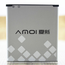 For Amoi N828 battery amoi N818 battery N820 N821 N850 N828T 100% new battery available 2050mAh no.14(China (Mainland))