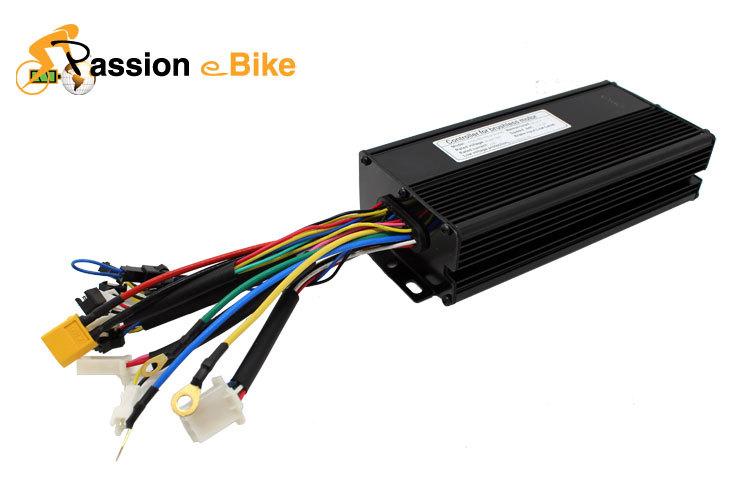 free shipping 48V 1500W Black Brushless DC Regenerative Function Motor Controller 36V 1000W ebike DC Sine Wave Controller(China (Mainland))