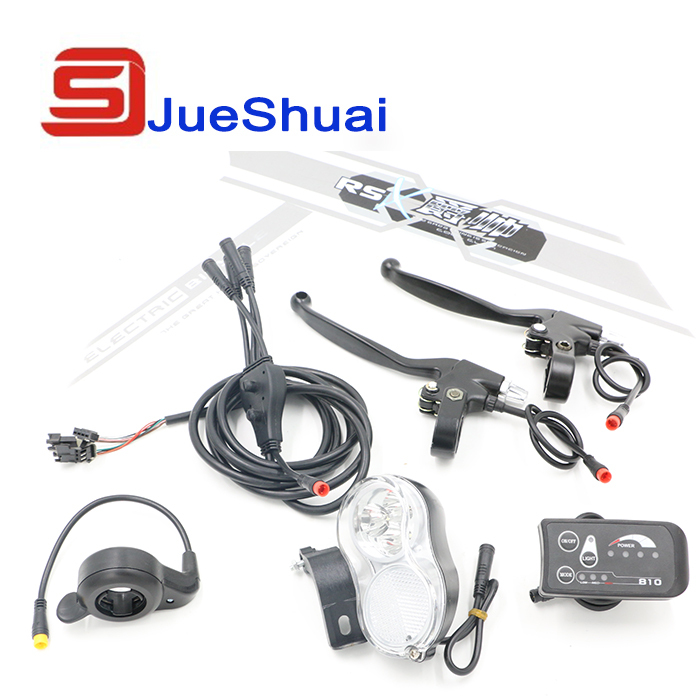 Electric Bike Accessories Kit Without Battery Use for Bike Refit  With LED Display JSE-012