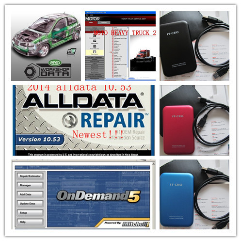 Excellent function 2015 auto repair software Alldata 10.53 28in1 with 1TB HDD + V3.0 mobile disk box fast speed Alldata mitchell(China (Mainland))