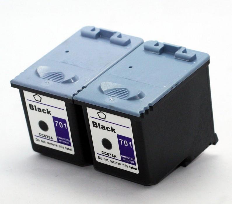 CC635A black ink cartridge for hp 701 HP701 printer FAX 2140 FAX 640 FAX 650(China (Mainland))