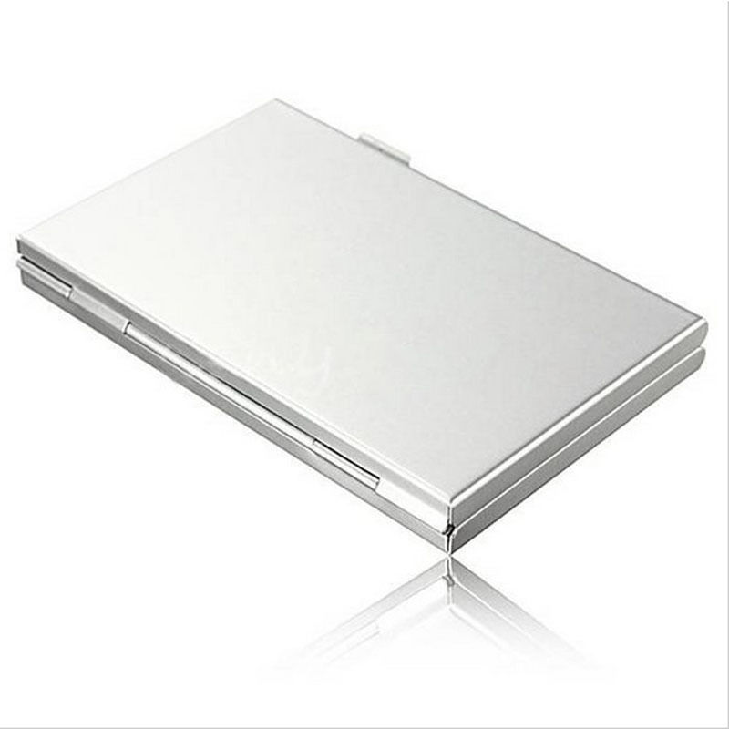 8X TF 4X SD Aluminum Micro SD MMC TF Memory Card Protecter Holder Storage Case Box(China (Mainland))