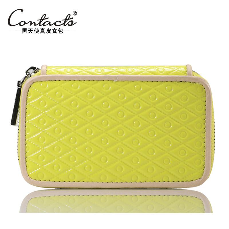 2015 Purse New Fashion Case For Keys Women Women's Zipper Key Multifunctional Small Change Genuine Leather Wallet Female Purse(China (Mainland))