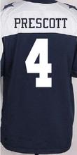 Men's 21 EZEKIEL 88 DEZ 82 JASON 22 EMMITT 4 Dak Thanksgiving BLUE WHITE elite jerseys(China (Mainland))