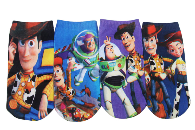 Wholesale Free postage 6 pairs high quality cotton cartoon children socks boys kids at factory prices cartoon socks 35#(China (Mainland))