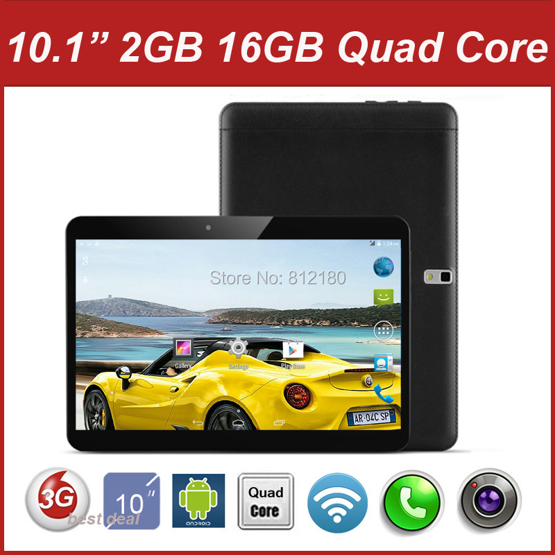 "DHL Free 2016 Newest MTK6582 Quad Core 10 inch 3G Tablet PC 2GB RAM 16GB ROM 5.0MP Bluetooth GPS phon tablet 7"" 9 10""+Gifts(China (Mainland))"
