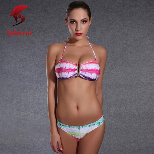 Молодые девушки пляж подарок купальник низкой талией сексуальная микро бикини костюм кристалл повод ремень марка купальный костюм летом