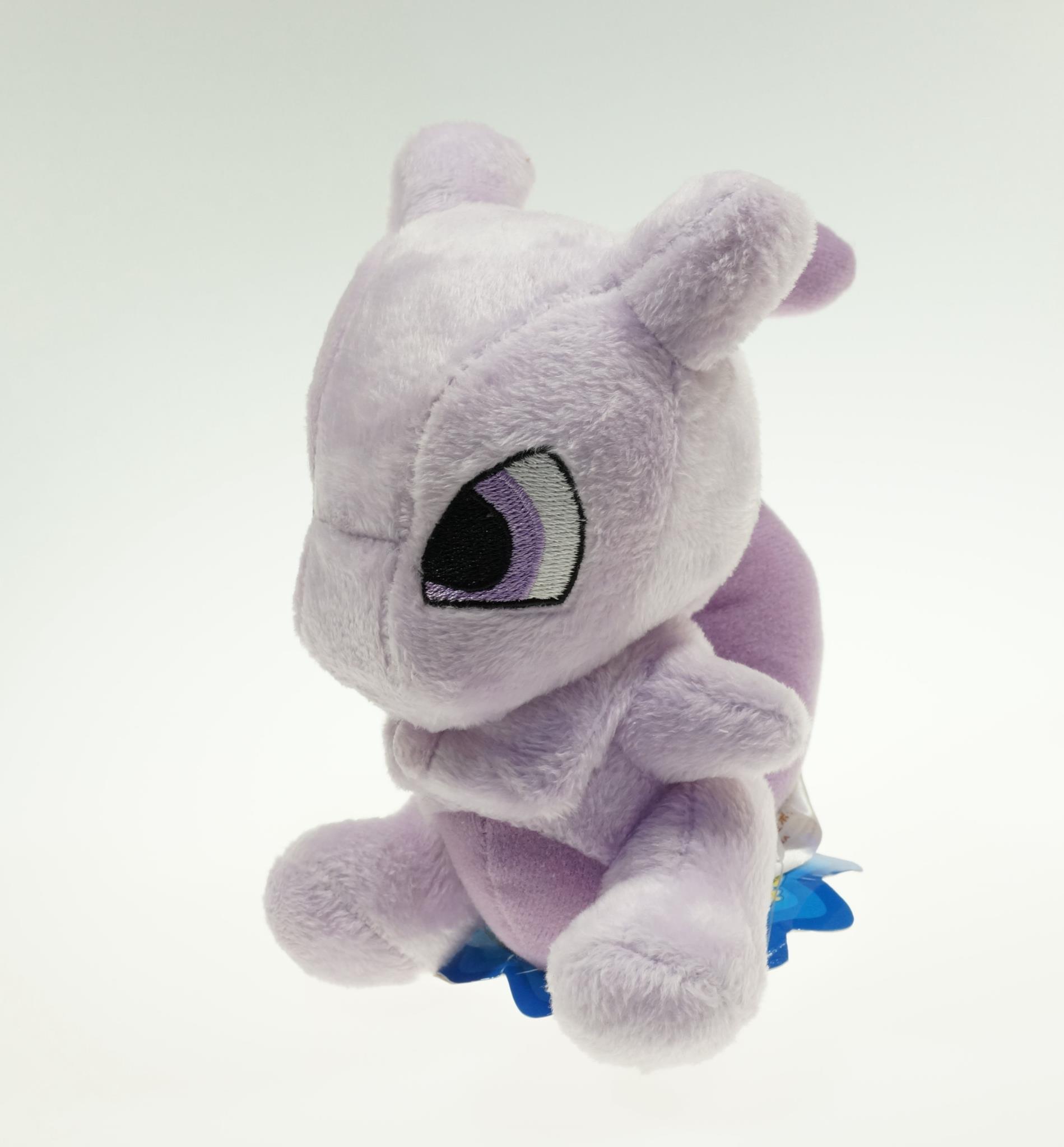 "6"" 17cm Pokemon Cute Mewtwo Plush Toys For Children Retail Mewtwo Plush Doll Stuffed Mewtwo Best Birthday Gift For Child(China (Mainland))"
