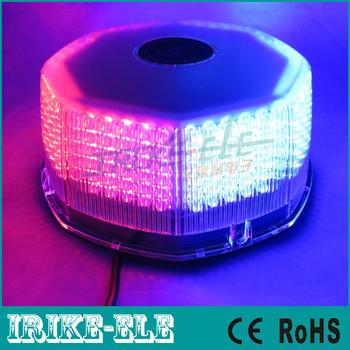 NEW 240 LED Car vehicle Waterproof Magnets Strobe Light Warning light Beacon EMERGENCY Light Red/blue Amber White Free Shipping