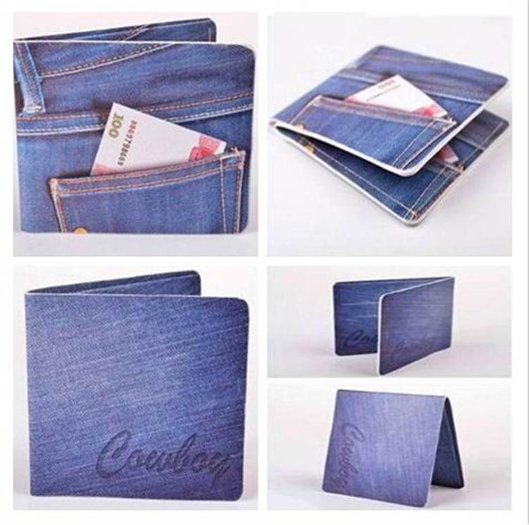 Wallet Jeans Pocket Jeans Pocket Wallet With