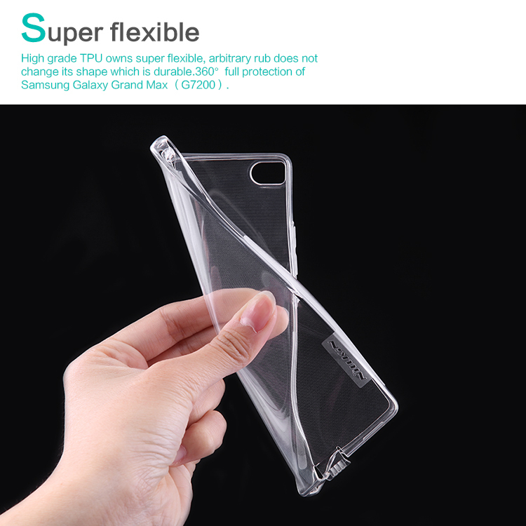 NILLKIN Ultra Thin Transparent Nature TPU Case Huawei Ascend P8 (5.2inch) Hard Soft Back Cover + Retail Package