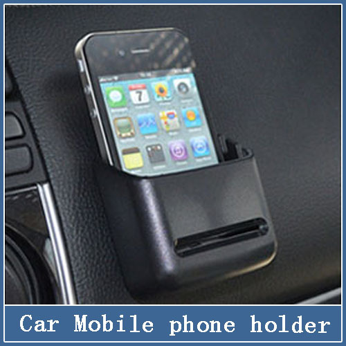 1x Auto Car Universal Holder Multi-use Tools Organizer Box mobile phone GPS frame storage Pockets Vehicle Cards Receive Bags(China (Mainland))