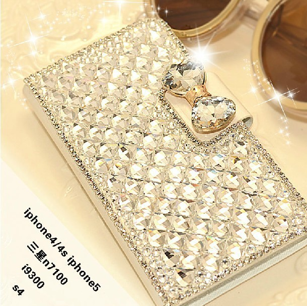 Luxury Bling Bling Rhinestone Diamond Phone Case Cover With Stands Holder For Samsung galaxy Note 4 Note 3 S4 S5 S3 S6 S6 Edge(China (Mainland))