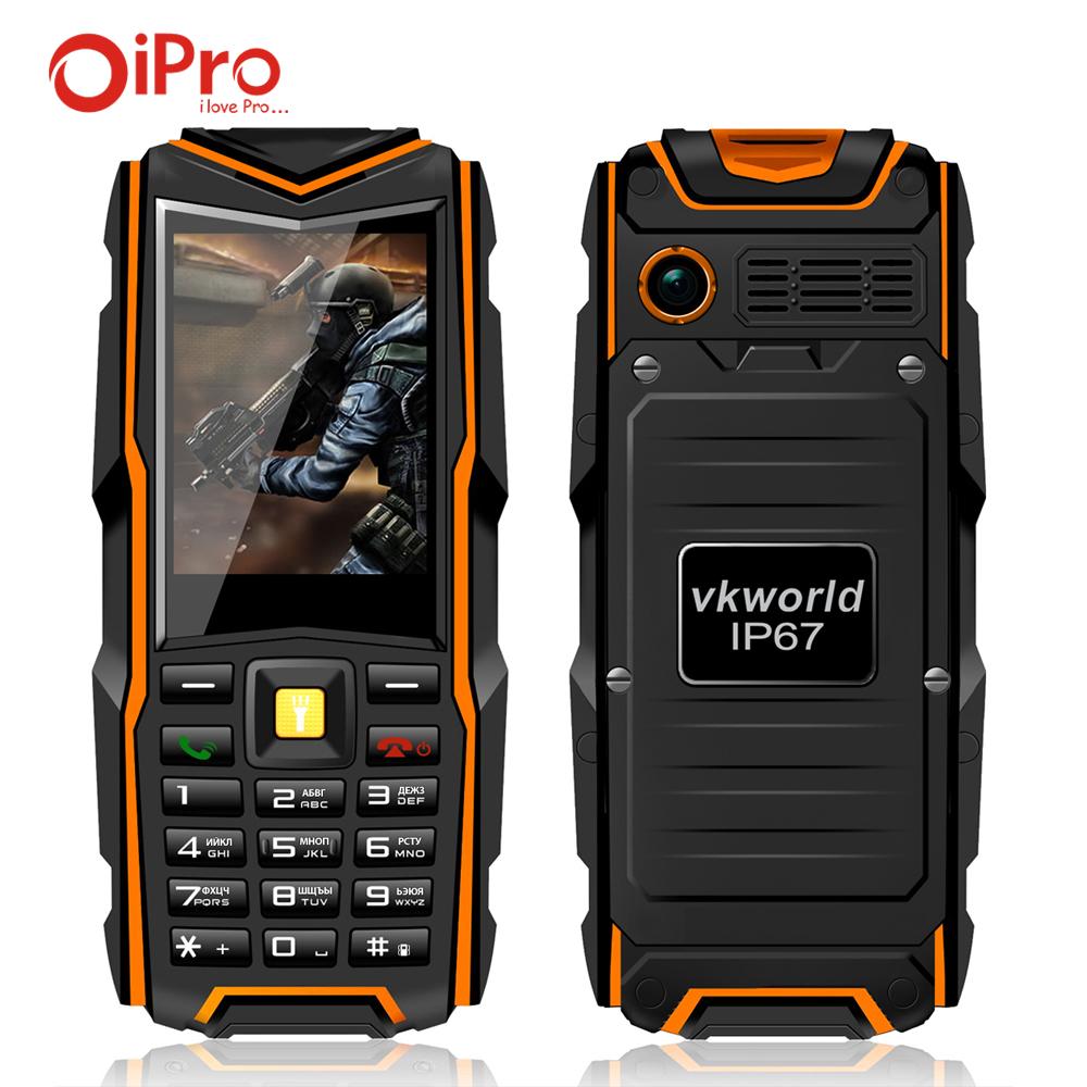 VKworld Stone V3 Waterproof IP67 Rugged Mobile Phone for Elder Man 5200mAh Power Bank Dual SIM Cell Phones Russian Keyboard(China (Mainland))
