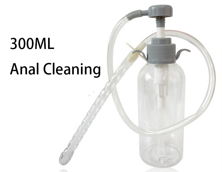 Like air how to clean your anus for anal gymast and