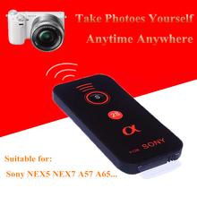 NEW Camera Shutter  IR Wireless Remote Control for Sony NEX5 NEX7 A57 A65 A77 A33 A55 A230 A330 A380 A550  DSLR Camera