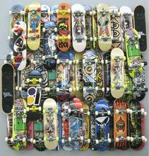 10pcs random Fingerboard Tech Decks 96mm mini Skateboard Original boys toy Plan B Element Blind DGK Zoo YorK Flip Birdhouse(China (Mainland))