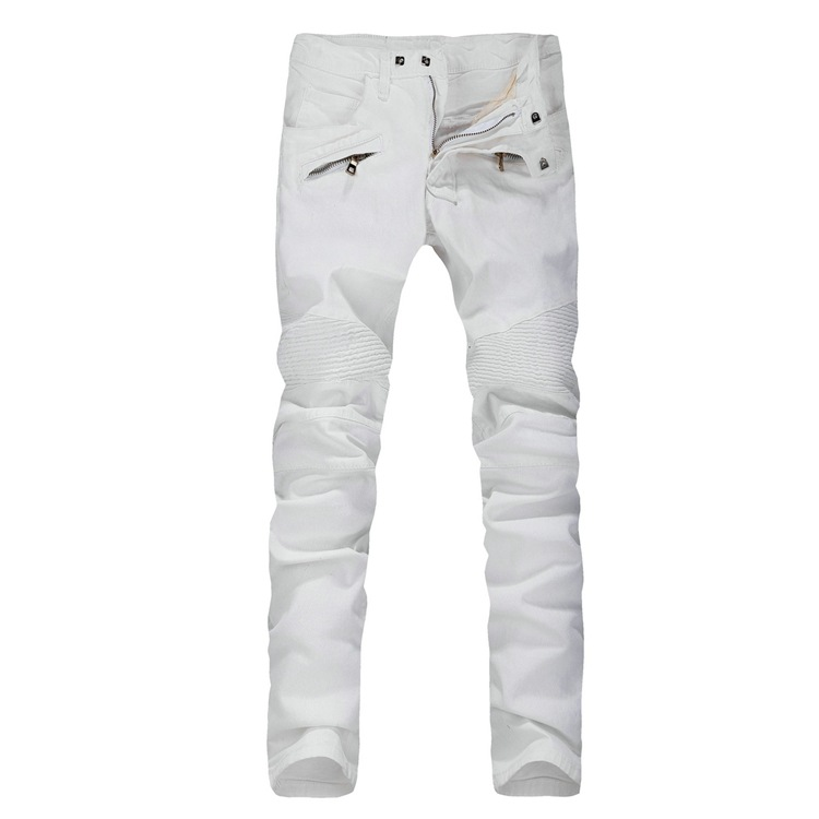 Collection Skinny Jeans White Men Pictures - Reikian