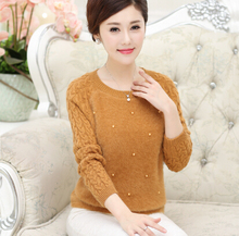 2015 fall and winter clothes fashion brand women s cashmere sweater free shipping elderly o