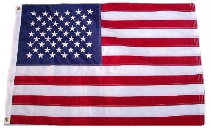 90*150cm 200pcs Jumbo 3'x5' American Flag banner USA US FT Polyester Be Proud&Show off Your Patriotism(China (Mainland))