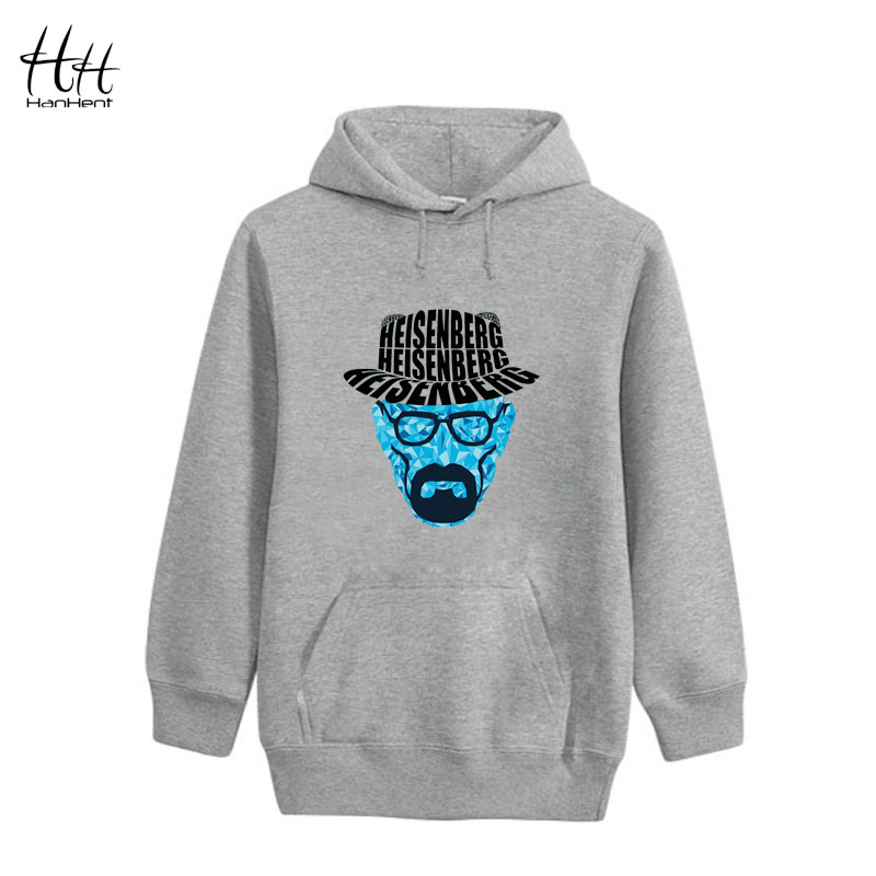 HanHent Breaking Bad Hoodies Men Heisenberg Walter White Hat Sweatshirts Rock Gym Hoody HO0420(China (Mainland))