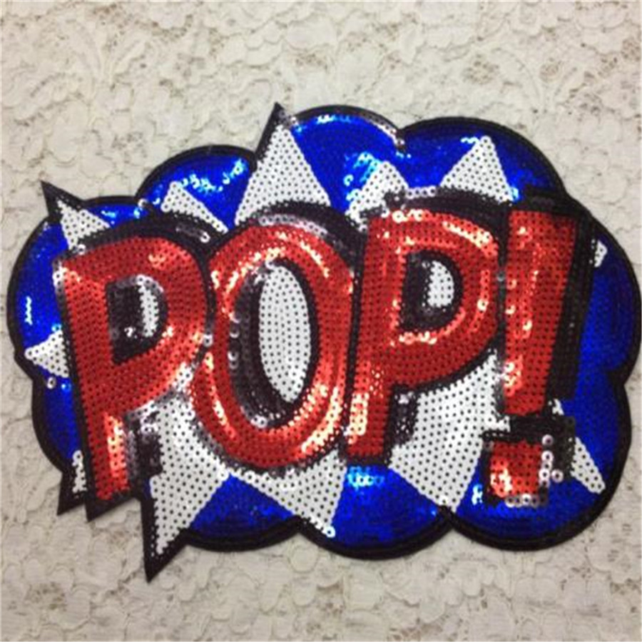 Fashion Clothes Patches Iron On