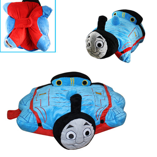 "FREE SHIPPING Animation Cartoon COOL ! Pixar Cars Thomas 12"" Soft Pillow Cushion Doll L(China (Mainland))"