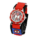 Cartoon Spiderman Watches Fashion Children Boys Kids Students Spider Man Nylon Sports Watches Analog Wristwatch