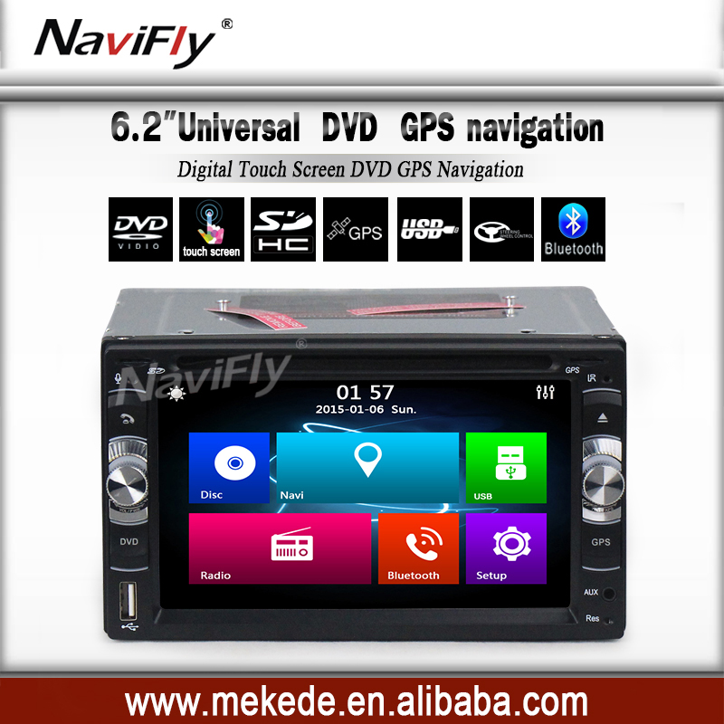 2016 Car DVD Player GPS Navigation 2din in dash WIDE SCREEN TFT Touch Screen head unit USB SD Bluetooth TV FM AM subwoof(China (Mainland))