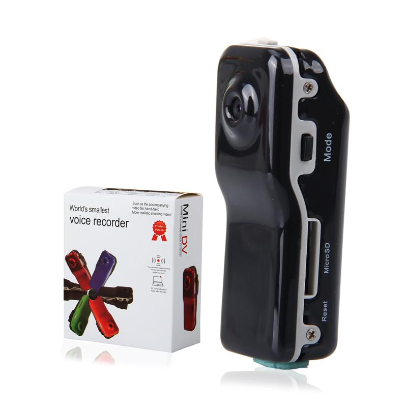 Brand New MD80 Mini DV DVR Sports Helmet Bike Motorbike Camera Video Audio Recorder Free Shipping(China (Mainland))