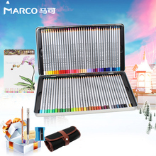Buy 2017 Marco Renoir 24/36/48/72 Color oily Professional Art Color Pencil 7100 lapices de colores acuarelables School Art Supplies for $7.52 in AliExpress store