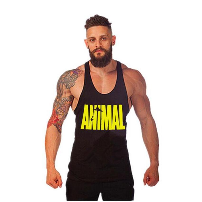 Golds Gym Vest Mens Sleeveless Shirt Bodybuilding Stringers Tank Top Fitness Singlets Sport Undershirt Sport Clothes Cotton Tops(China (Mainland))