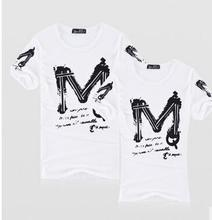 TOP Quality AF Letter Brand Casual T Shirt 100% Cotton Tops & Tees Summer Men T-shirt Sport T Shirt Men Fitness Clothing(China (Mainland))