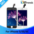 20PCS LOT Tianma AAA None Spot LCD for iPhone 5 5S 5C LCD Screen Touch Digitizer