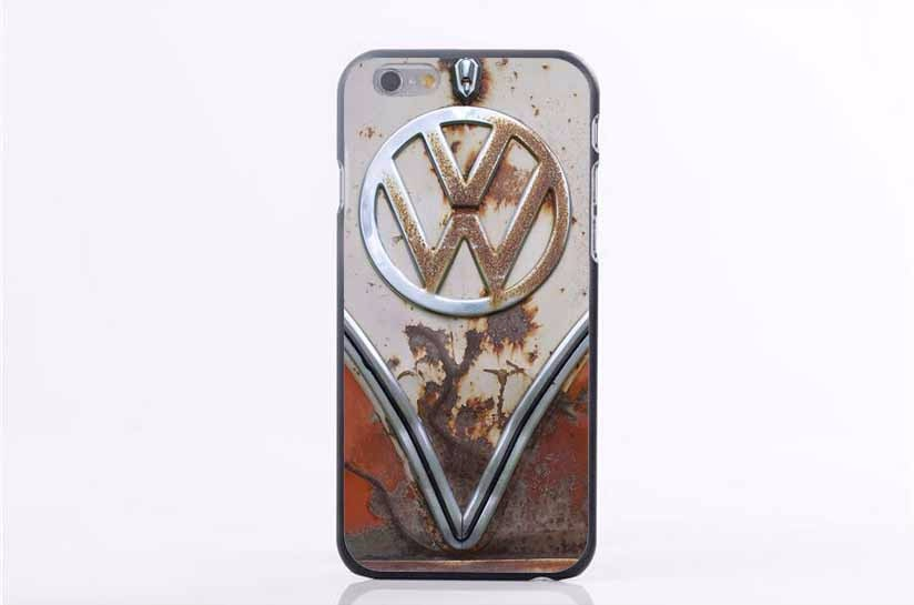 Coque VW Mini Bus Vintage Volkswagen Bus Case For iPhone 4 4S 5 5S SE 5C 6 6S 6Plus Plastic Phone Cases