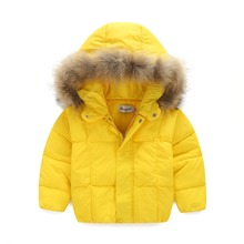 2016 new men and women hair collar white duck down jacket thicker coat men and women warm short paragraph HT126(China (Mainland))