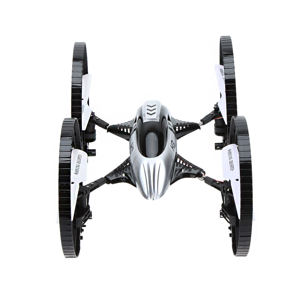 JJRC H3 2.4G 4CH 6-Axis Gyro RC  Air-ground Amphibious Quadcopter Drone with 2.0MP Camera HD